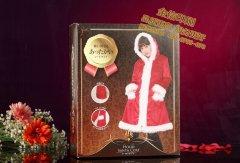 圣诞节礼品盒包装盒定制印刷设计